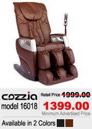 Cozzia 16018 Shiatsu Massage Chair