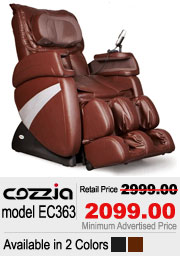 Cozzia 363 Shiatsu Massage Chair