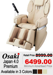 Osaki Japan 4.0 Premium Shiatsu Massage Chair