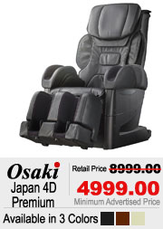 Osaki Japan 4D Premium Shiatsu Massage Chair