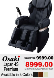 Osaki Japan 4S Premium Shiatsu Massage Chair