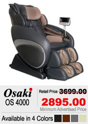 Osaki OS 4000 Shiatsu Massage Chair