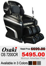 Osaki OS 7200CR Shiatsu Massage Chair