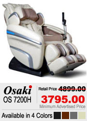 Osaki OS 7200H Shiatsu Massage Chair