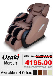 Osaki OS Marquis Shiatsu Massage Chair