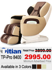 Titan TP Pro 8400 Shiatsu Massage Chair