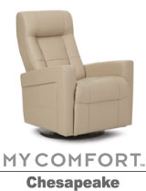 Palliser Chesapeake My Comfort Swivel Rocker Reclier