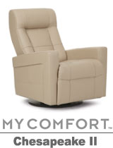 Palliser Chesapeake II My Comfort Swivel Rocker Reclier