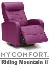 Palliser Riding Mountain II My Comfort Swivel Rocker Reclier