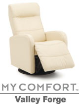 Palliser Valley Forge My Comfort Swivel Rocker Reclier