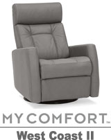 Palliser West Coast II MyComfort Swivel Rocker Reclier