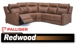 Palliser Redwood 41057 Sectional