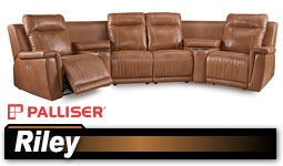 Palliser Riley 41055 Sectional