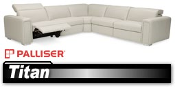 Palliser Titan 44004 Sectional