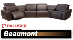 Palliser Benson 41637 Sectional