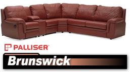 Palliser Brunswick 40620/45620 Sectional