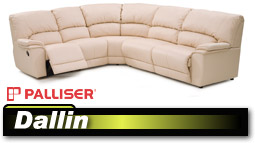 Palliser Dallin 41180/46180 Sectional