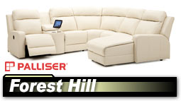 Palliser Forest Hill 41032/46032 Sectional
