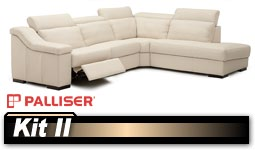 Palliser Kit II 40642 Sectional