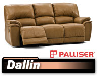 Palliser Dallin 41180/46180 Reclining Sofa